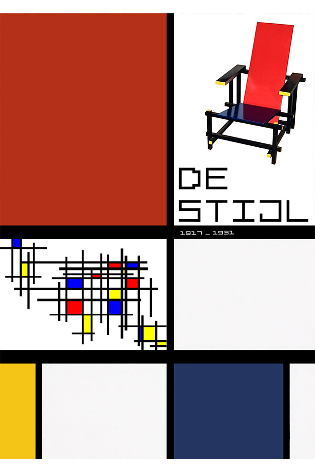 Poster-De-Stijl