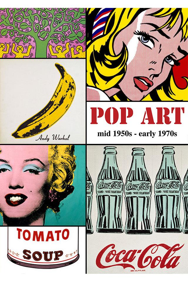Pop Art Design Period Poster Design YNCA Design